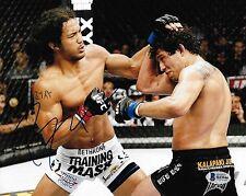 Benson Henderson Signed 8x10 Photo BAS Beckett COA UFC on Fox 7 Picture Auto'd 1