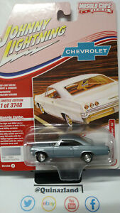 Johnny Lightning Muscle Car USA 1965 Chevy Impala SS (NG47)