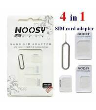 Adattatore Nano SIM verso Micro SIM e Standard SIM Kit 4 in 1