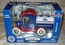 Gearbox 1912 Ford Amoco Standard Oil Co. Limited Edition Coin Bank 1-24 Scale
