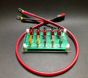 ElectroResales RIGRUNNER  DC POWER PANEL Starter Kit (outrigger and cable)