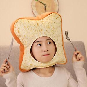 Toast Hat  Costume Fancy Dress Headwear Cosplay Headdress Photo