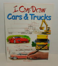 I Can Draw Cars & Trucks, art drawing instruction book, Terry Longhurst, NEW