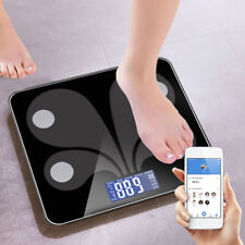 Smart Scale Bluetooth Body pondération FAT BMI Digital fitness Tracking mesure