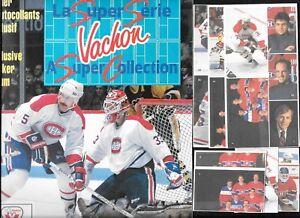 1987-88 VACHON STICKER MONTREAL CANADIENS NHL HOCKEY PANEL SINGLE ALBUM SEE LIST