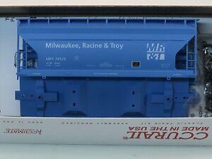 Kalmbach Accurail MR&T ACF 2-Bay Covered Hopper HO Kit 84140 Car #76125 NIB