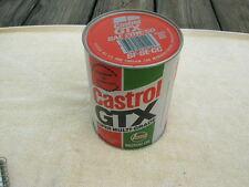 Full Quart Vintage CASTROL 20w50 MOTOR OIL Paper Cardboard ( bar code on top )