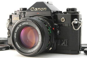 EXC+++++/ CANON A-1 + NEW FD 50mm F1.4 SLR Film Camera from Japan #1200