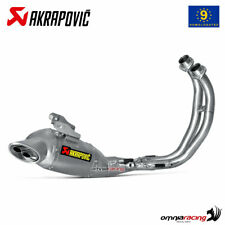 Akrapovic full exhaust system approved titanium for Yamaha MT07 / FZ07 2014>2016