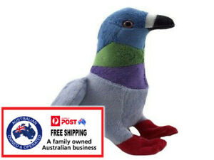 1 X PLUSH PIGEON 23CM bird teddy kids gift soft toy stuffed animal christmas