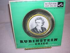 Rubinstein Plays Grieg Keyboard Miniatures 45EP ERA 202 RCA Victor