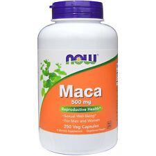 Now Foods Maca, 500 mg, 250 Veg Capsules