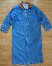 Women's SUNBELT SPORTSWEAR DUSTER Size M/L BLUE DENIM 100% Cotton