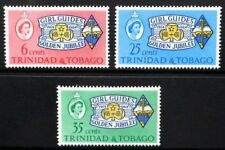 TRINIDAD & TOBAGO 1964 Girl Guides' Association. Set of 3. MNH. SG308/310.