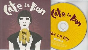 CATE LE BON Me Oh My 2009 UK 10-track promo CD Sweet Baboo Megan Childs Gorkys