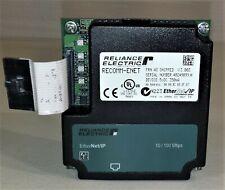 Reliance Electric RECOMM-ENET Ethernet/IP Communication Module V3.003