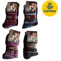 Calcetines de Lana invierno Yesok 12 Pares Para mujer Talla 35-40