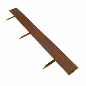Multi-Edge ADVANCE Rasenkante 200 x 20cm Cortenstahl pro Stück (€24,50/m)
