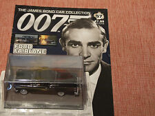 JAMES BOND  FORD FAIRLANE with magazine No 57