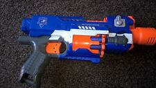 NERF GUN STOCKADE & 10 BULLETS USED WORKING