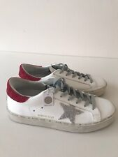 Golden Goose Sneakers White Leather Size 39