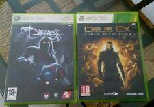 2 giochi XBOX 360: Deus Ex Human Revolution e The Darkness