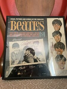 Signed Beatles Album - Signed By George And Ringo (includes COA)
