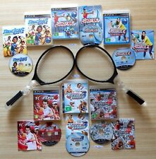 PS3 TOPSPIN 4 + VIRTUA TENNIS 3 & 4 + SPORTS CHAMPIONS + RACKET SPORTS +RACQUETS