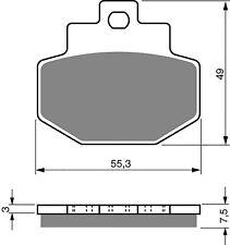 REAR BRAKE PADS FOR GILERA VX XR2 125 VXR 180 JRX 200