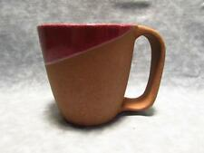 Bret Bortner Terra Cotta 'Wabi-Sabi' Dark Red Coffee Cup Mug