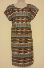 CAREN NEW Tribal Crop Top Blouse & Skirt Set Petite Plus 2X QCO