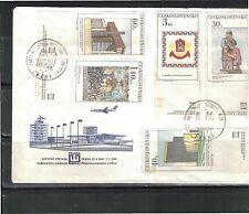 Nicht bestimmte ungeprüfte Briefmarken aus Europa mit Mischfrankatur