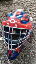 OLIE Goalie mask helmet for Ice Hockey Junior L Burlington Bulldogs