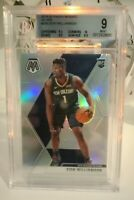 2019-20 Panini Mosaic Zion Williamson True RC Rookie Silver Prizm Pelicans SP
