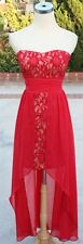 NWT HAILEY LOGAN $120 RED NUDE Party Dance Prom Gown 3