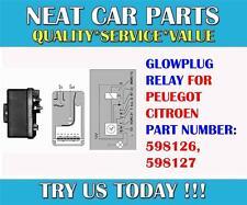 Glow plug relais pour Fiat Scudo Ducato 1.9 D 9616280080
