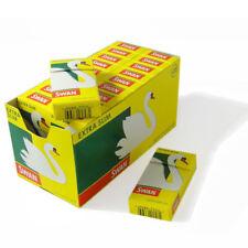 Swan Extra Slim Cigarette Filter Tips Full Box of 20 packs Free P&P