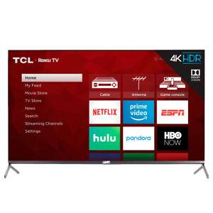 "TCL 65R625 65"" QLED 4K Roku Smart TV"