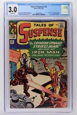 Tales of Suspense #52 1964 CGC 3.0 1st Appearance of The Black Widow