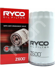 Ryco Oil Filter FOR ISUZU D-MAX 8DH (Z600)