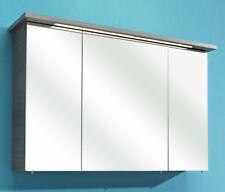 Pelipal Badmöbel Spiegelschrank ALIKA / CESA III > 115 cm Graphit Struktur quer