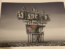 ROAMCOUCH X JEFF GILLETTE RUINED SIGN DISMALAND SN XX/200