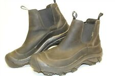 KEEN Mens Size 13 47 Anchorage Waterproof Leather Pull On Chelsea Boots 1002757
