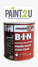 Zinsser BIN 1L Primer Sealer and Stain Killer 1 Litre