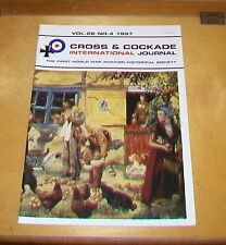 CROSS & COCKADE GREAT BRITAIN JOURNAL VOL 28 No 4  1997 7 SQN OBSERVERS RFC