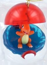 CHARMANDER Pokemon Christmas Ornament Poke Ball Holiday Anime Basic Fun Retired