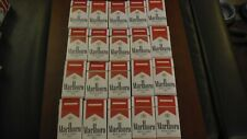 30 Marlboro Red Label 100  Empty Used Cigarette Boxes Packs Tobacco Crafts
