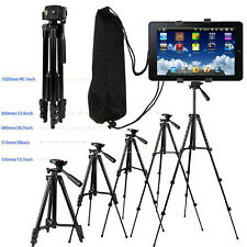 Universal Tripod Telescopic Tablet Camera Holder Stand For Apple Huawei Samsung