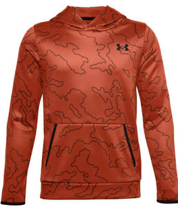 Under Armour Boys' Armour Fleece Printed Hoodie # Youth Large (14-16)