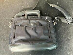 "Dell Laptop Black Carry Messenger Computer Bag 14-15"""